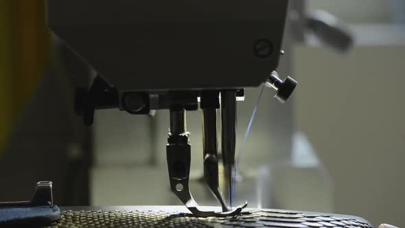 Thumbnail for Leather sewing machine