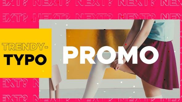 Trendy Typography Promo