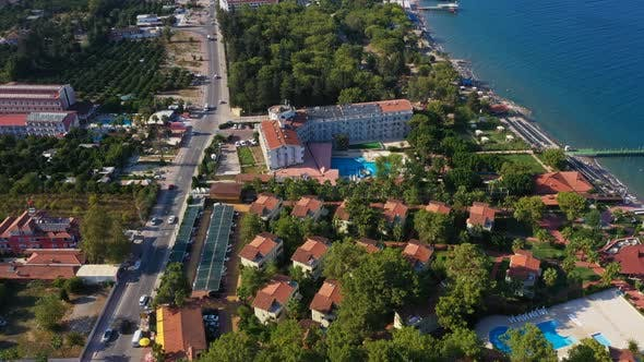 Thumbnail for Aerial View Hotels Beldibi Village Turkey