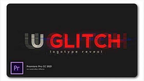 Ultra Glitch Logo Reveal