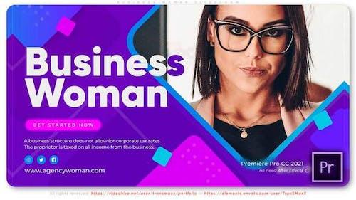 Business Lady Slideshow