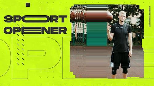 Ouvre-porte sport dynamique