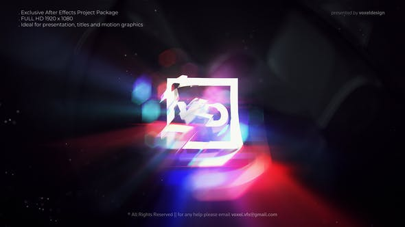 Glitch Logos Transitions Reveal