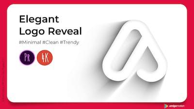 Elegant Outline Logo Reveal (Premiere Version)
