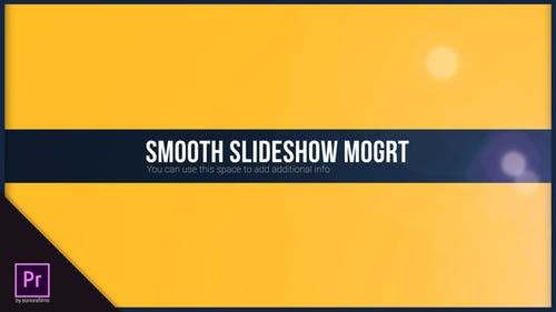 Smooth Slideshow Mogrt Pack
