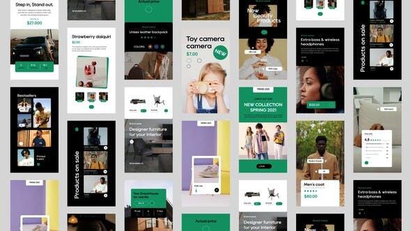Online Shop Stories