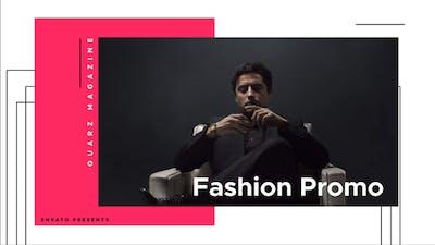 Fashion Magazine Promo
