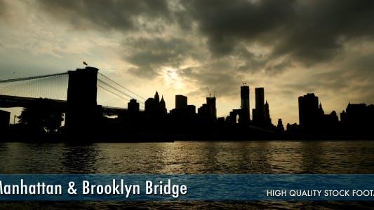 Thumbnail for Manhattan & Brooklyn Bridge Time Lapse