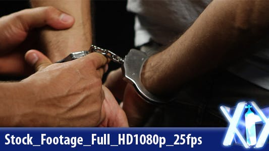 Handcuffs Arrested - Released