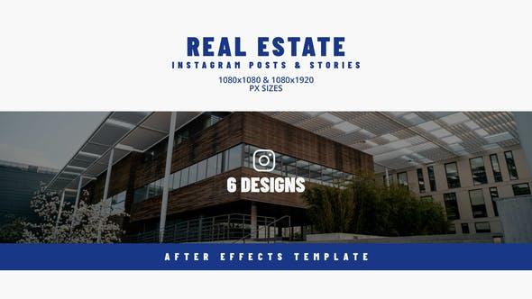 Real Estate Instargram Posts & Stories