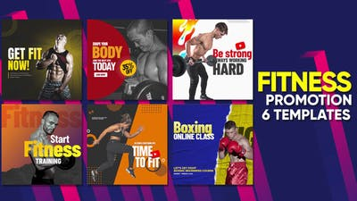 Fitness Promo Intagram Posts B46