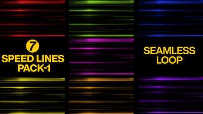 Anime Speed Lines Pack Seamless Loop