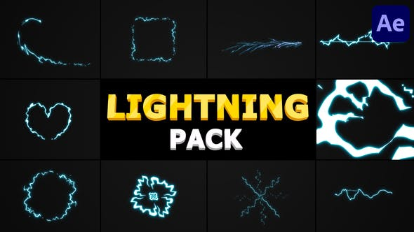 Lightning Pack   After Effects