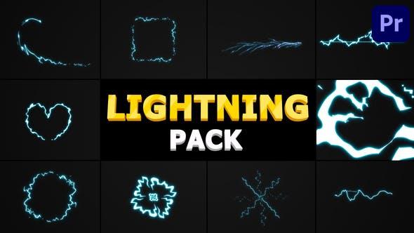 Lightning Pack | Premiere Pro MOGRT