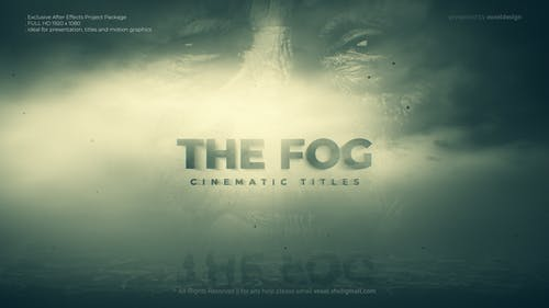 The Fog Cinematic Title