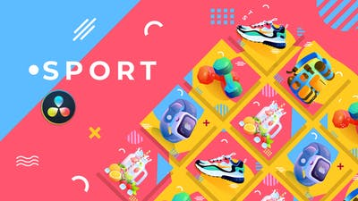 Sport Product Promo | DaVinci Resolve