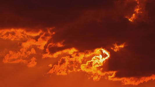Zeitraffer Dunkler Himmel