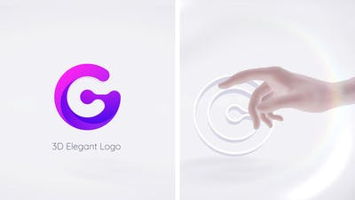 3D Simple Touch Logo