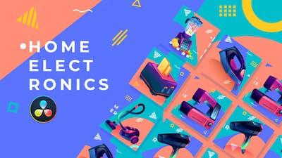 Home Electronics Product Promo | DaVinci Resolve