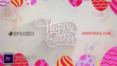 Happy Easter Logo Reveal