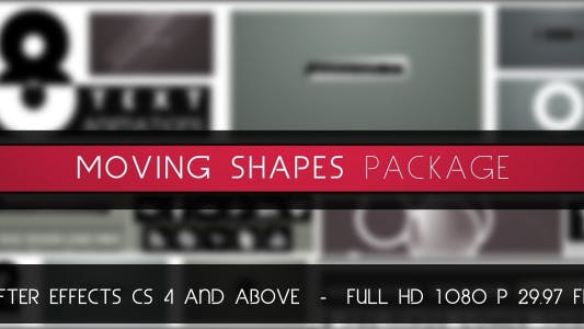 Thumbnail for Moving Shapes Package