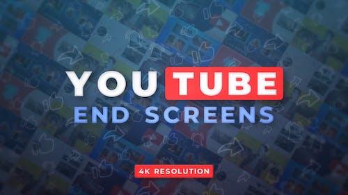 YouTube End Screens 4K v.2