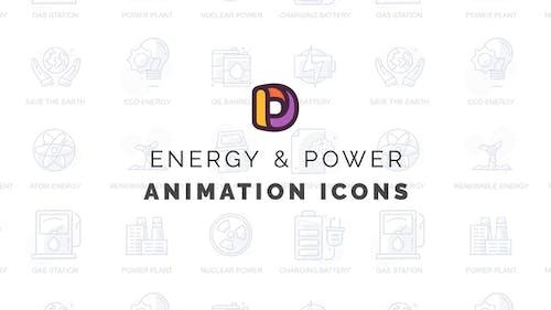 Energy & Power - Animation Icons