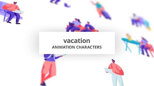 Vacation - Character Set