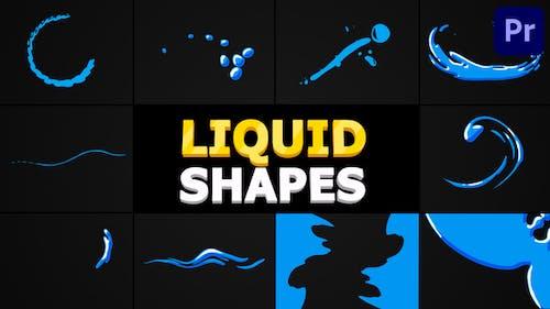 Liquid Shapes | Premiere Pro MOGRT