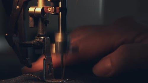 Sewing Machine On Yellow Light 6