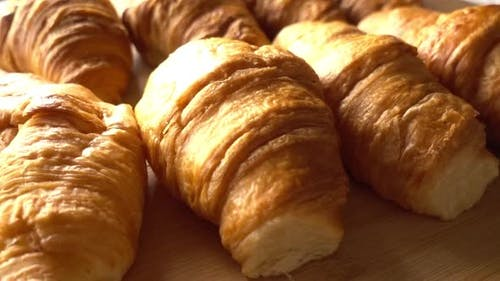 Gebäck Croissants