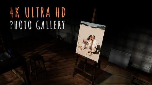 Wedding Photo Gallery in an Art Studio