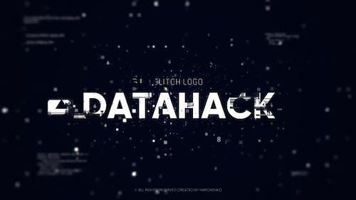 Glitch Logo - Data Hack // DaVinci Resolve