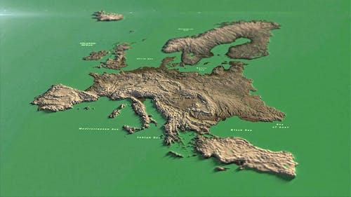 Europe Map PP
