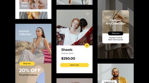 Online Shop Instagram Stories