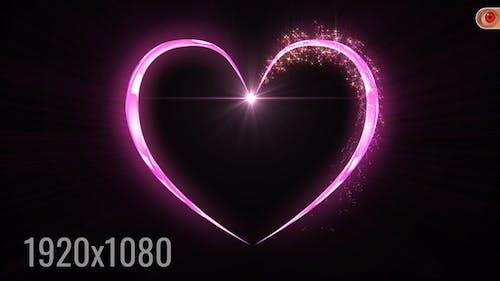 Magisches Valentinstag Herz