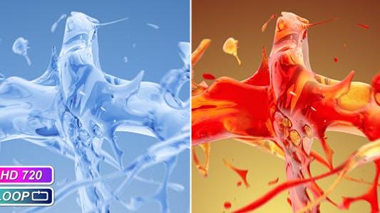Thumbnail for Splash liquid collision