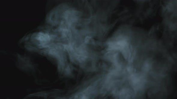 Rising Wisps of Smoke