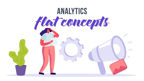 Analytics - Flat Concept