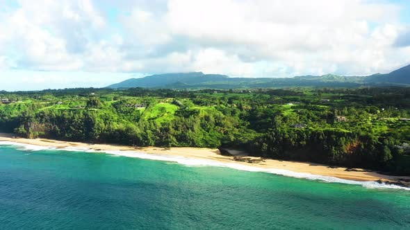 Thumbnail for Wonderland Aerial View Of Waves Hawaii