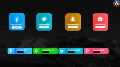 Social Media Lowerthirds Pack