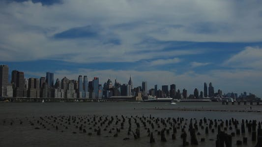 Cover Image for New York City Time Lapse with Old Pier Full HD