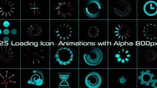 Loading Icon Animations