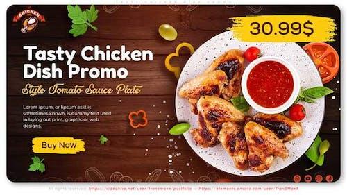 Tasty Chicken Dish Promo
