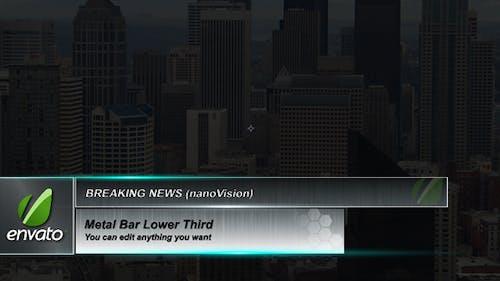 Metal Bar lower third