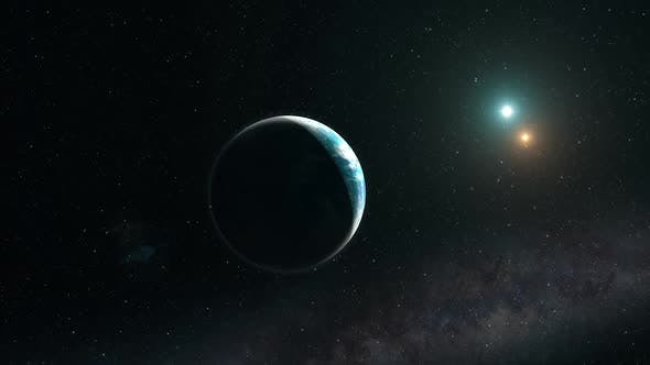 Arriving at a Distant Ocean Exoplanet
