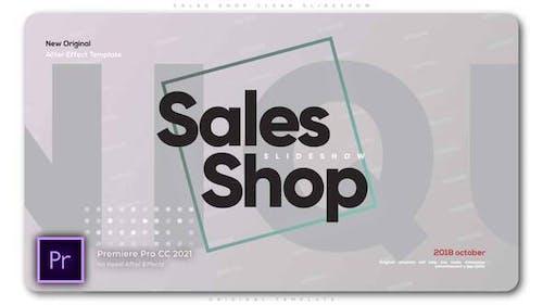 Sales Shop Clean Slideshow