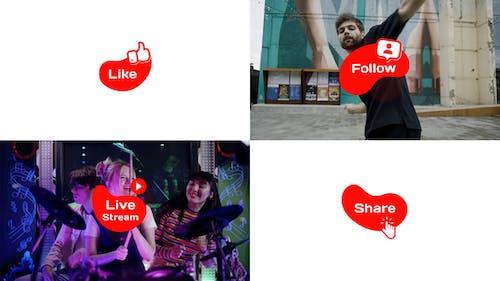 Social Media Icons & Transitions // DaVinci Resolve Macro