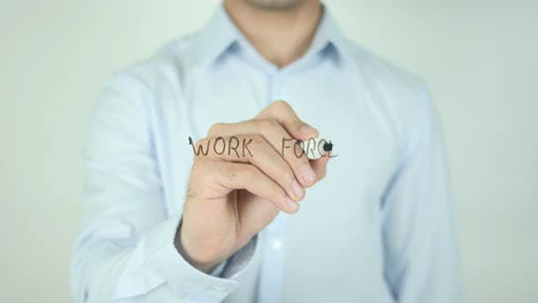 Thumbnail for Work Force, Writing on Screen
