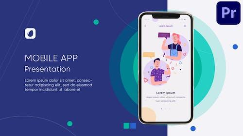 Mobile App Promo Mogrt 84
